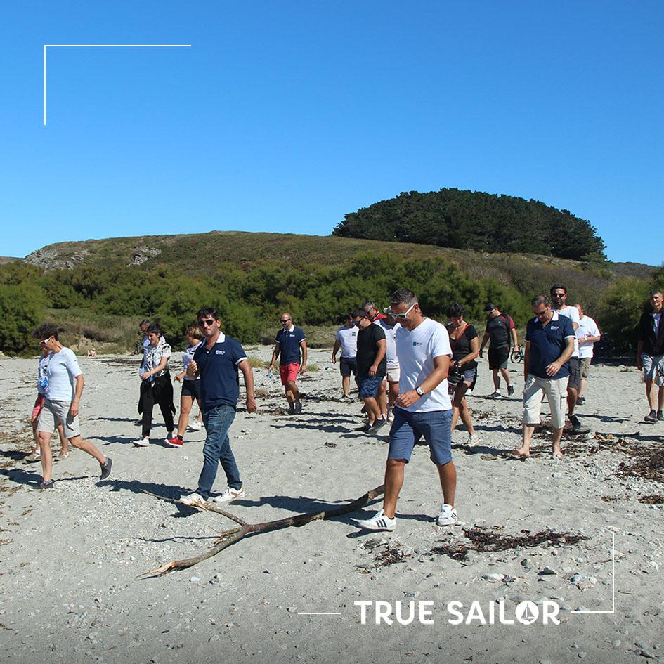 Activité team building à la plage séminaire