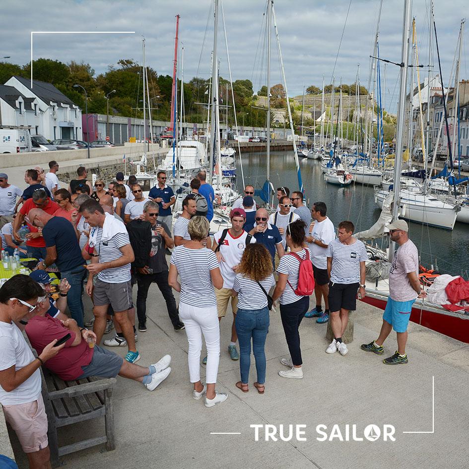 Séminaire d'entreprise en Bretagne au port