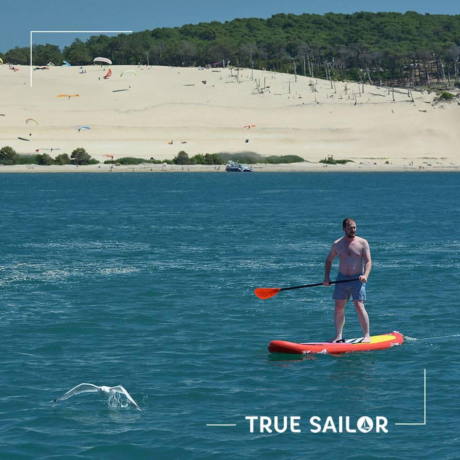 Dune du Pilat et paddle en séminaire d'équipe