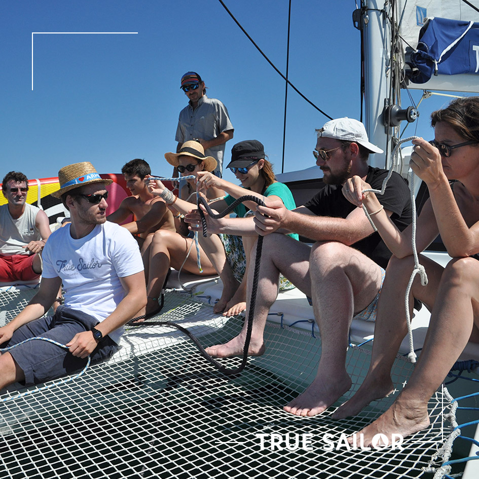 Apprendre à faire des noeuds marin en séminaire