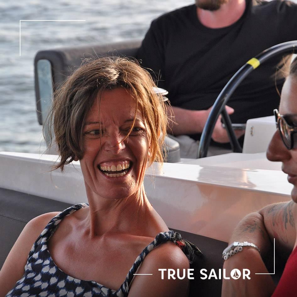 Portrait cours de voile catamaran