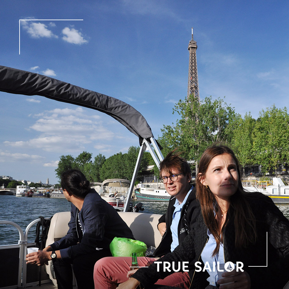 Croisière privatisée sur la Seine à Paris
