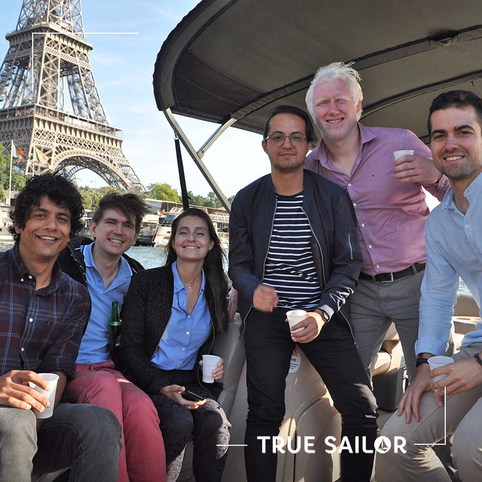 True Sailor organise des séminaires à Paris et sa tour Eiffel