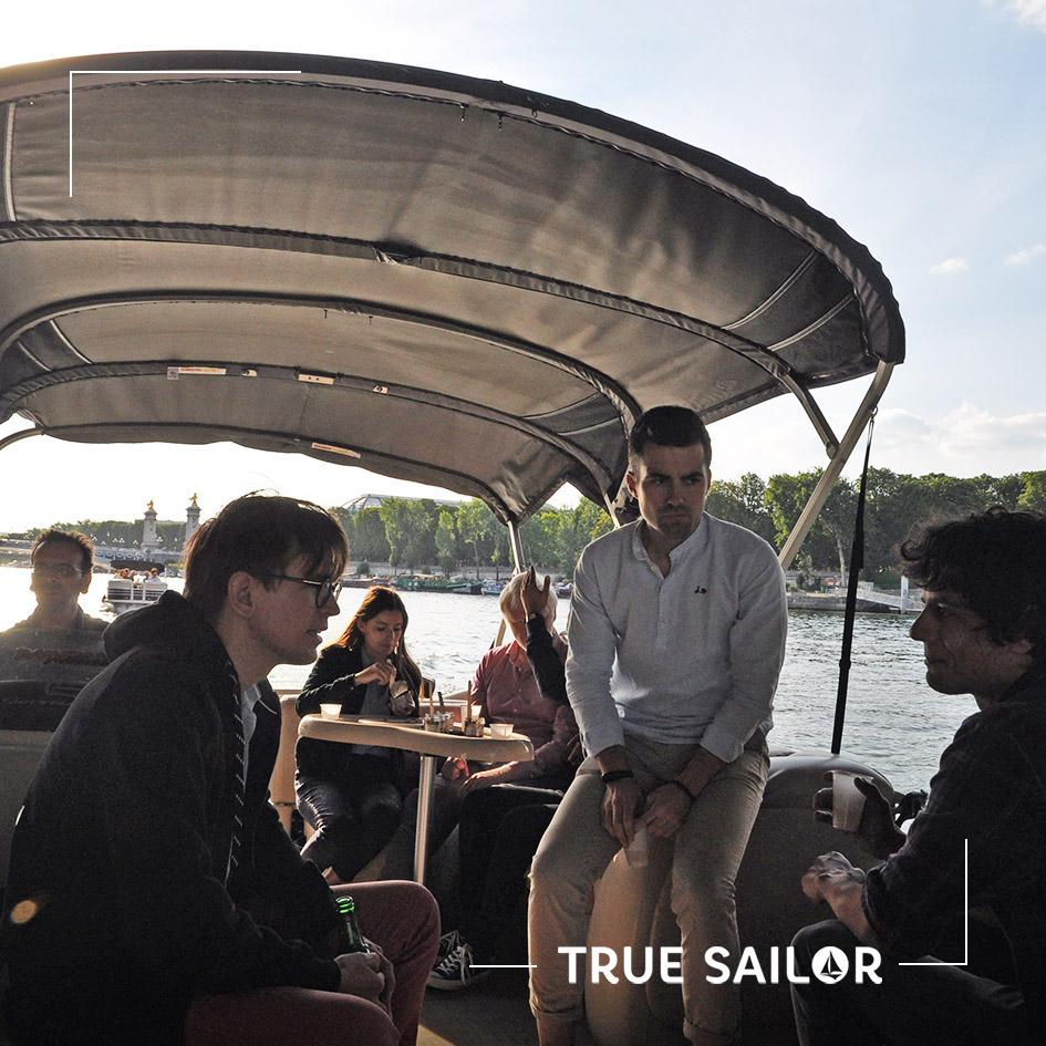 Séminaire d'équipe original en bateau sur la Seine