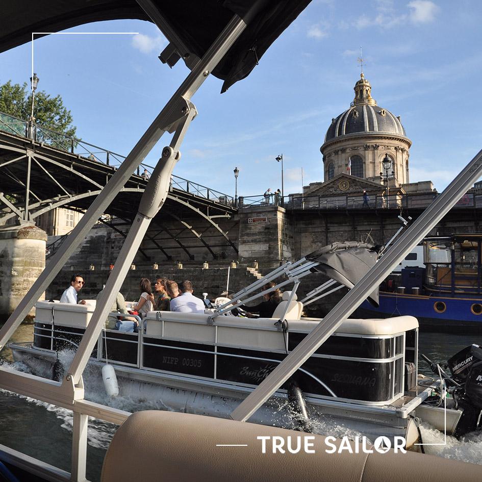 Team Building original en bateau sur la Seine