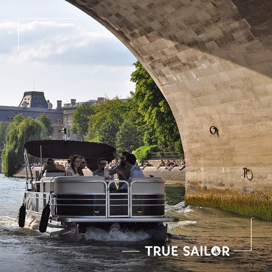 Incentive original en bateau sur la Seine
