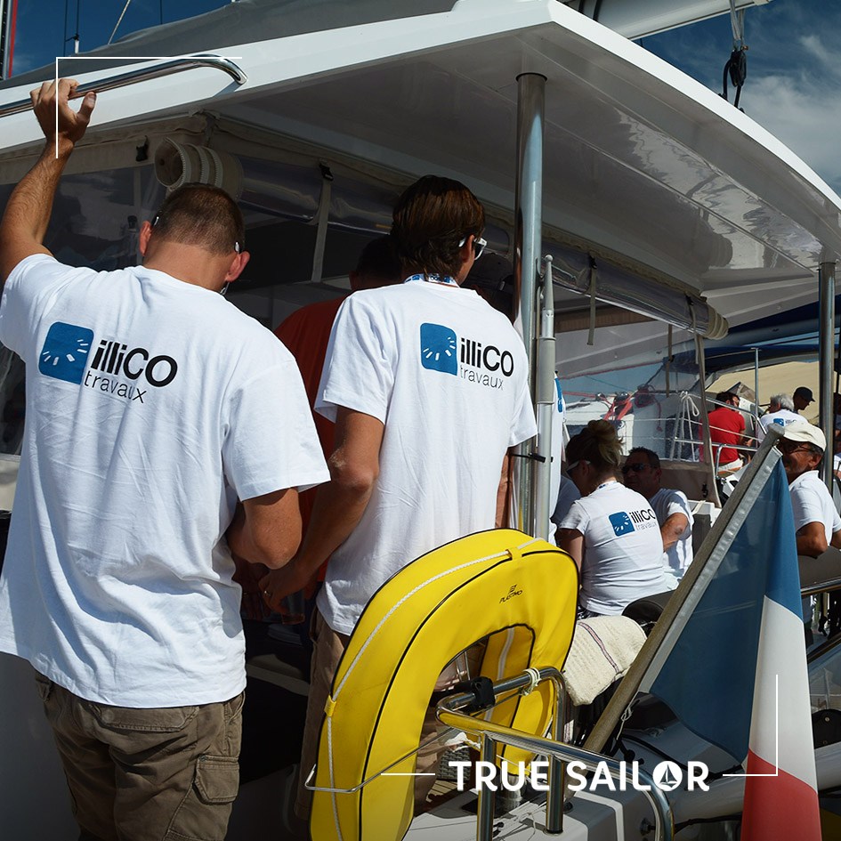 Catamaran séminaire d'équipe