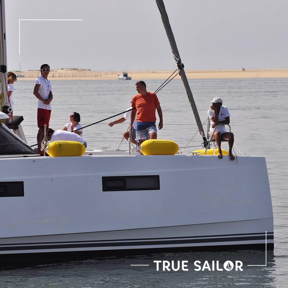 Séminaire en catamaran à voile