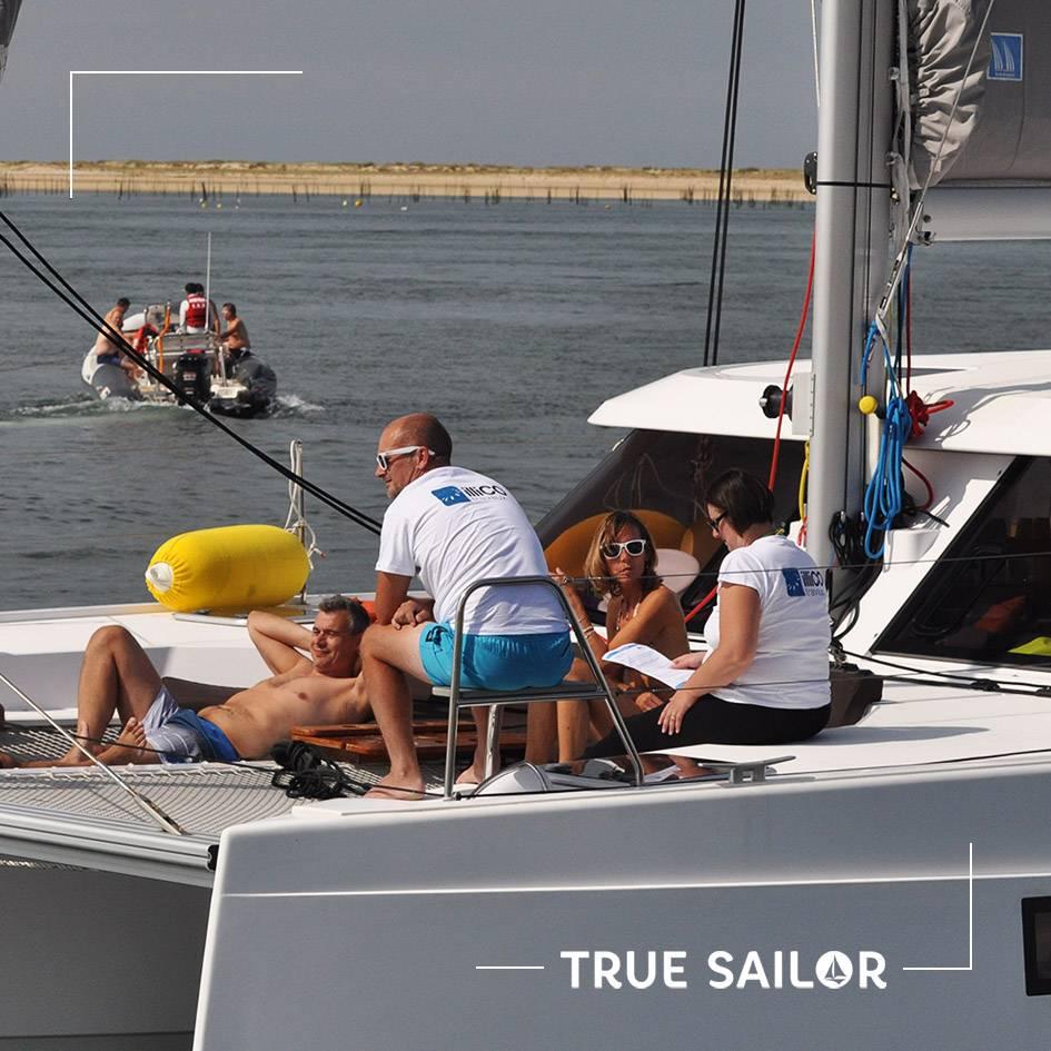 Séminaire en bateau à voile catamaran