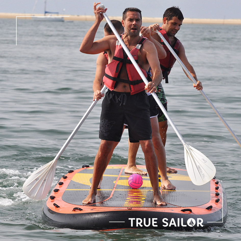 Challenge d'équipe original paddle