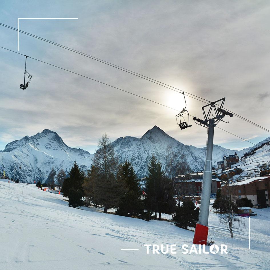 Séminaire au ski à la neige les Alpes