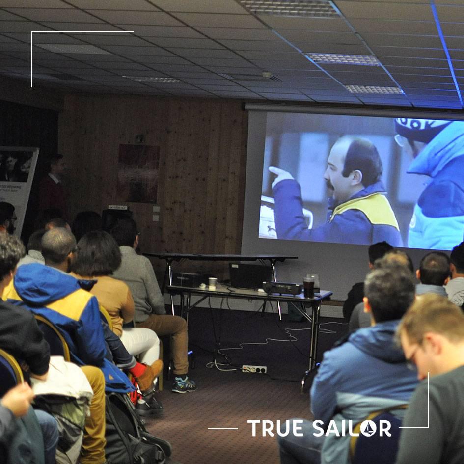 Réunion d'équipe séminaire d'entreprise vidéo