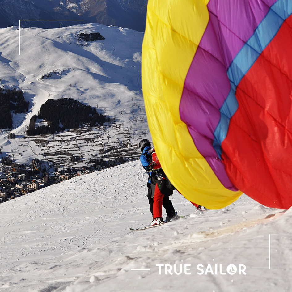 Photo parapente activité team building True Sailor