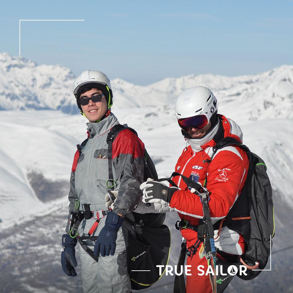 Activité parapente team building Alpes