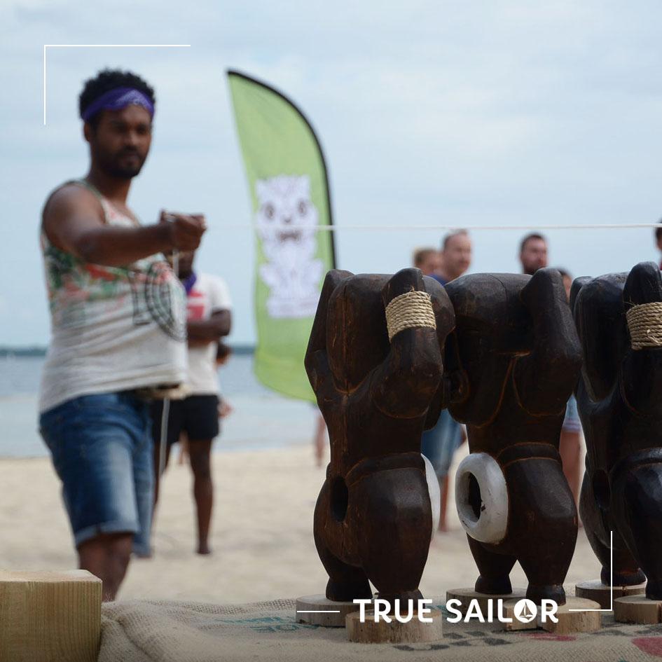 Activité originale entreprise Koh lanta plage