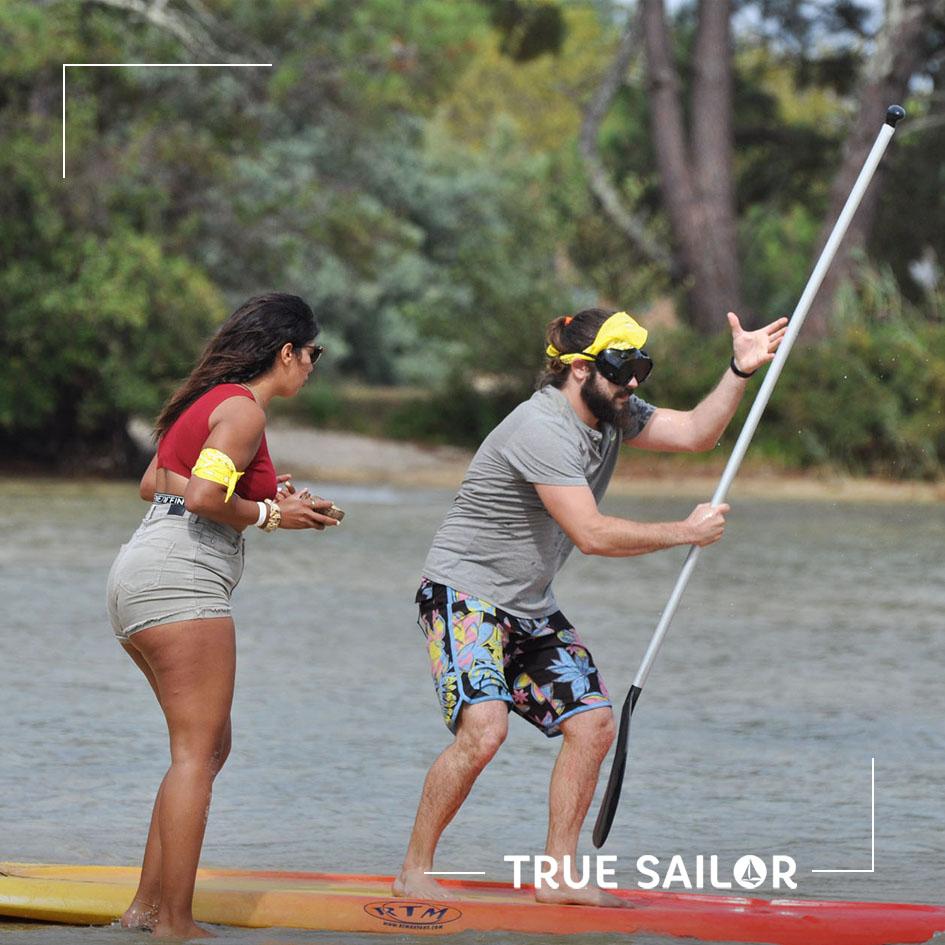 Olympiade avec paddle