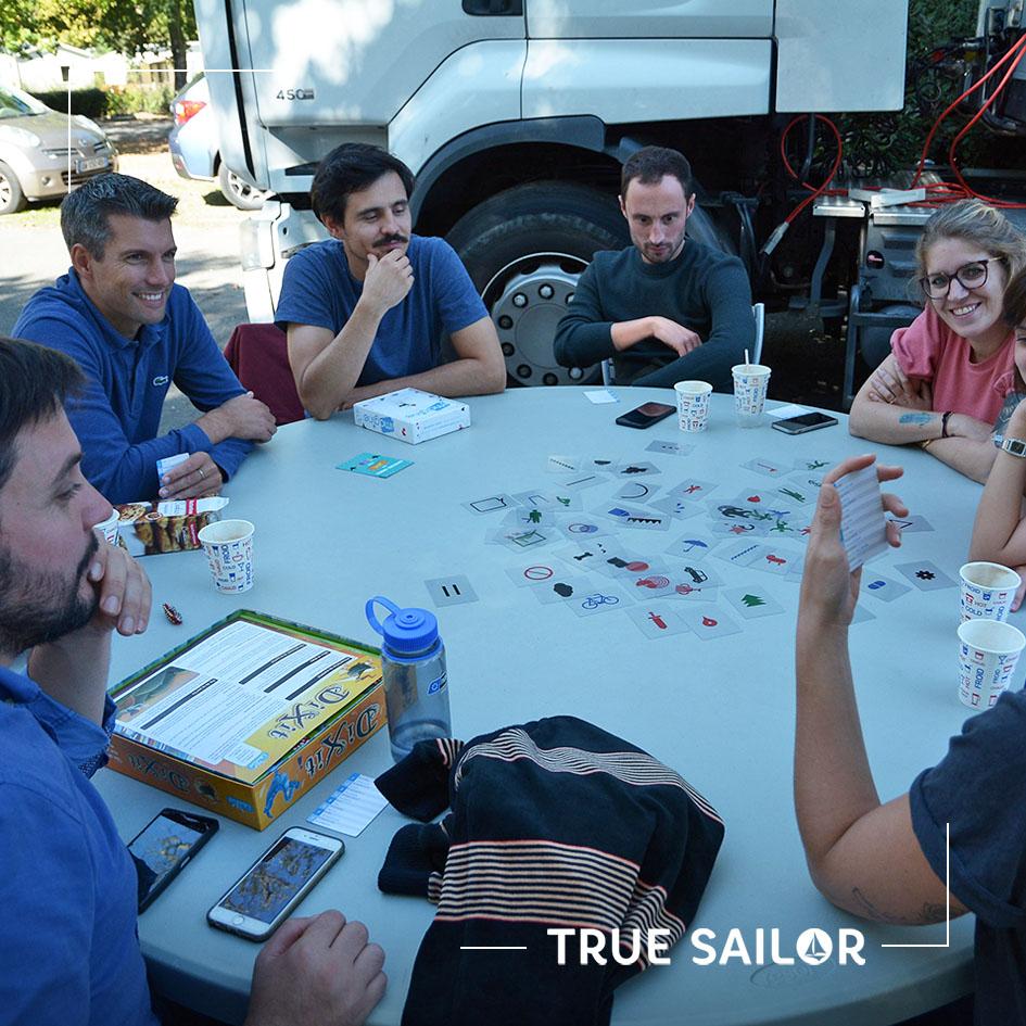 Atelier jeu participatif séminaire d'équipe