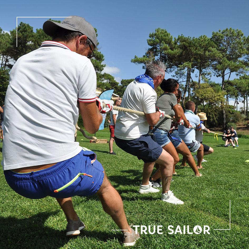 Jeux sportif pour séminaire team building