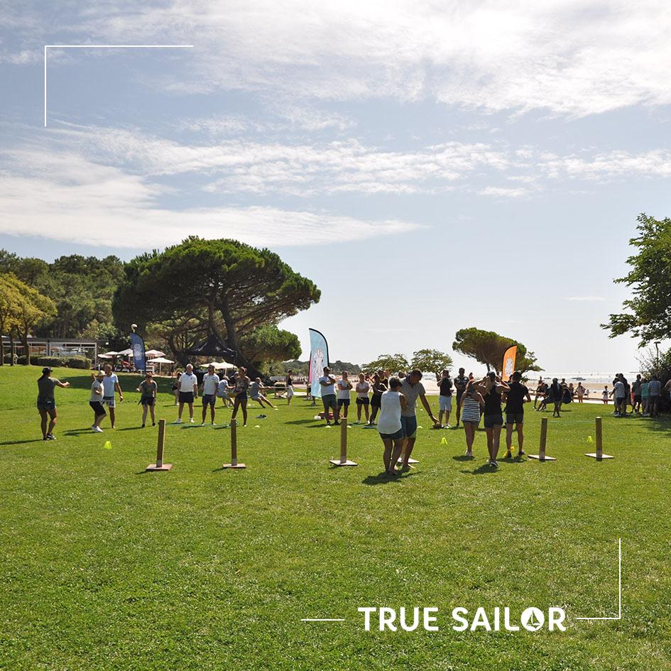 Jeux sportif pour séminaire team building plein air