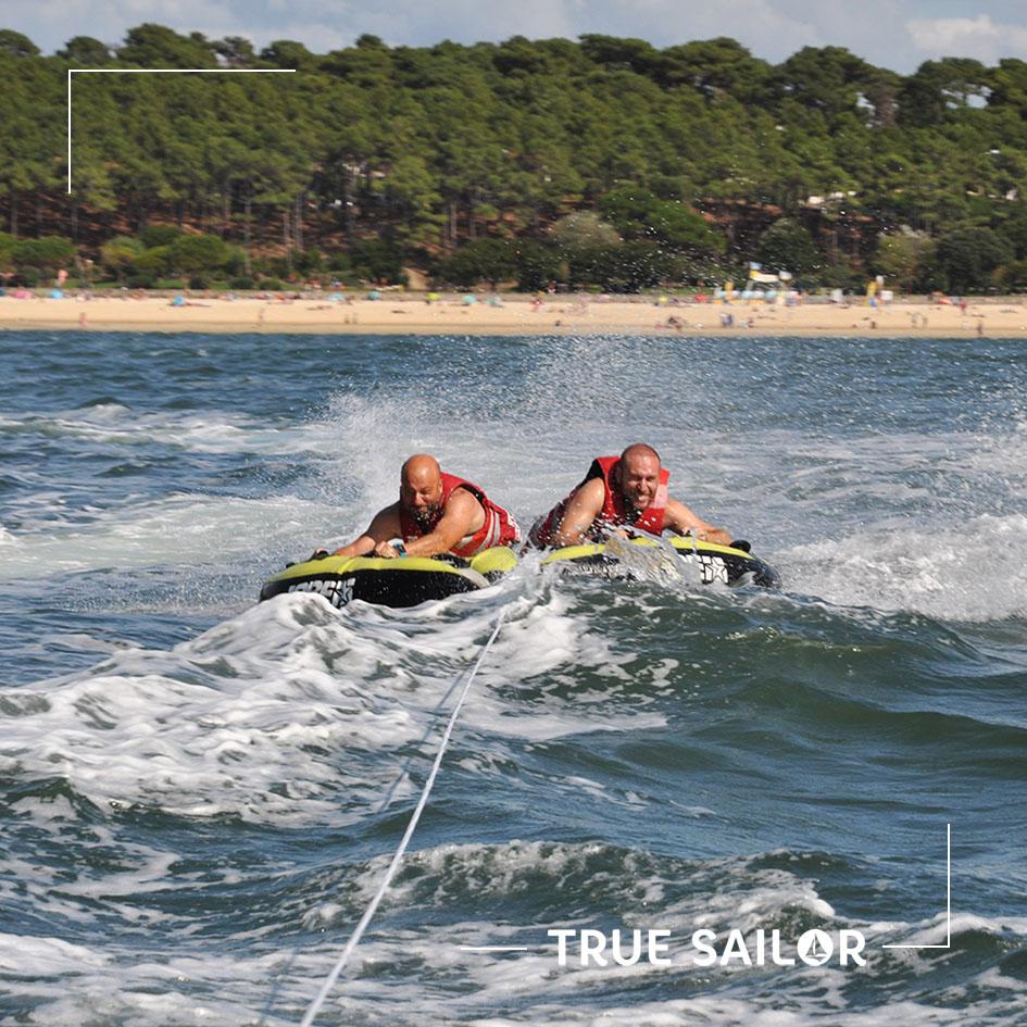 Olympiade sur l'eau pour team building
